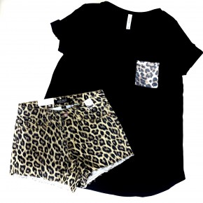 Judy Blue Leopard Shorts