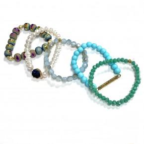 Moody Blues Bracelet Set