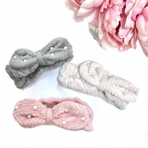 Mother of Pearl Knotted Headband