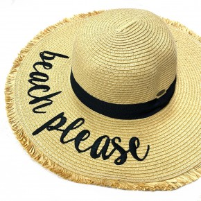 CC Beach Please Floppy Hat