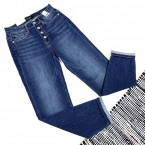 Judy Blue Button Fly Boyfriend Jeans