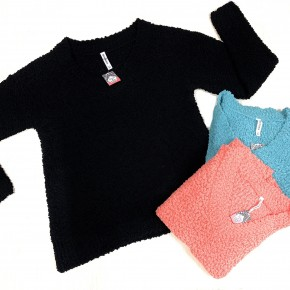 Cozy Obsession Popcorn Sweater