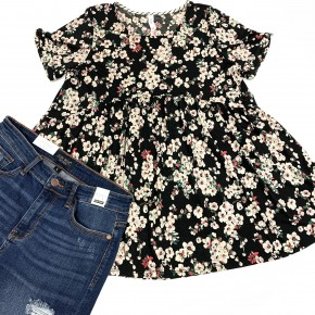 Blossom My Love Floral Top