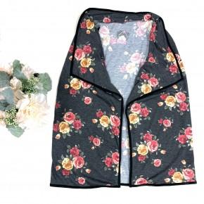 Always Choose You Floral Vest