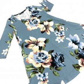 Take Me Back Floral Dress