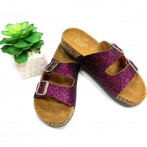 Glitter And Glam Sandal - Purple