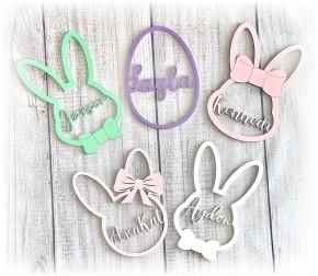 Easter Basket Custom Bunny Charm