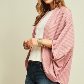 Textured Shrug Cardigan