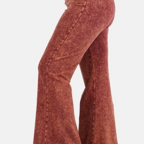 PLUS Mineral Wash Flare Pants