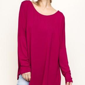 Asymmetrical Long Sleeve Top
