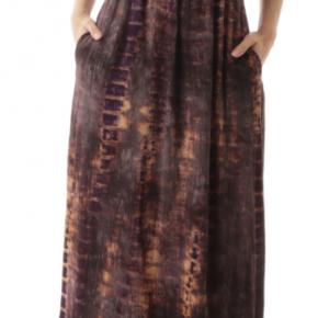 Tie dyed off shoulder dress