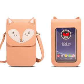 Fox save the girls phone/wallet purse