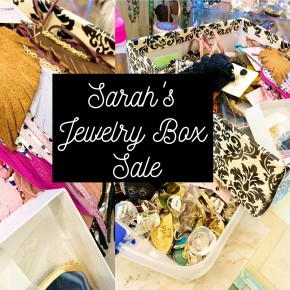 Sarah's Jewelry Box Sale