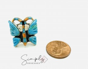 Sassy Butterfly Ring