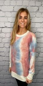 honeyme - Long sleeve  round neck sweater top