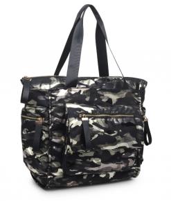 Sol and Selene - Metallic camo Bag