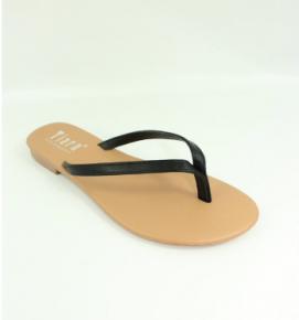 Black or PINK single strap flipflop