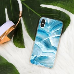 AQUA MARBLE PHONE CASE