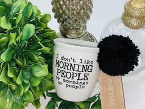 I dont like morning people mug