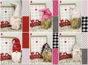 Valentine's Day Good Luck Handmade Gnome PRE-ORDER