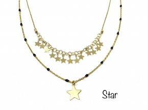 Star detailed necklace