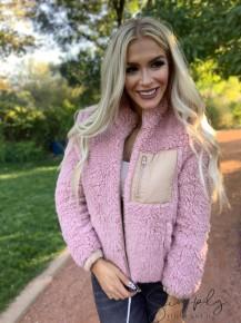 Trend:notes- Reversible fleece puff jacket