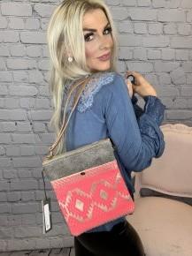 Myra Bag- Pink Petals Small Crossbody Bag