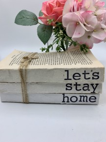 "Home decor book ""let's stay home"""
