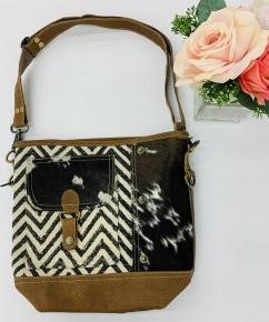 Myra Bag- Moire Pocket Shoulder Bag