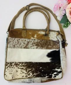 Myra Bag- Hair-On Laptop Bag