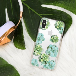 WATERCOLOR SUCCULENT IPHONE CASE