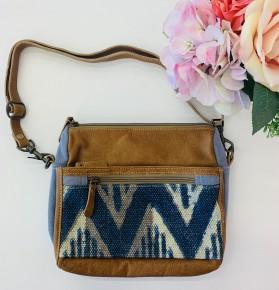 Myra Bag- Indigo Charm Small Crossbody Bag