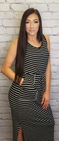 Cherish - Elastic waist dress with pockets