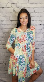 Honeyme - Plus size bulgari dress