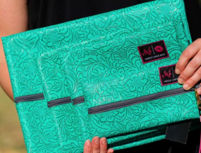 Makeup Junkie- Turquoise Dream Bag
