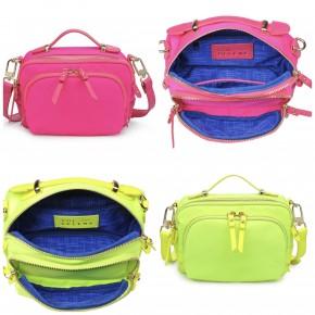 Sol and Selene - Neon reflective handbag