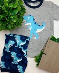 Dinosaur boy shorts set (kids)