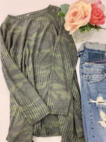Jodifl- Long sleeve knit tunic top