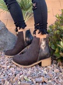 Corky's- Shield ankle booties