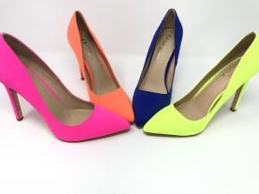 Mila neon stiletto heels