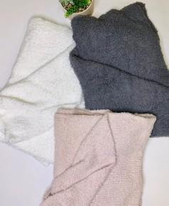 POL- Berber fleece cozy blanket
