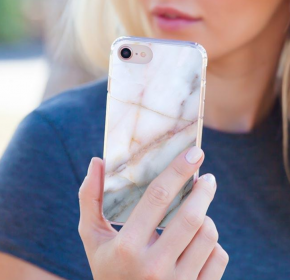 NEUTRAL MARBLE IPHONE CASE