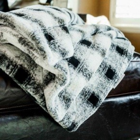 Minky Urban Adult blanket