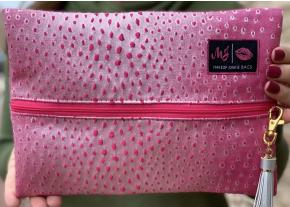 Makeup Junkie - Lizard Petal Bags