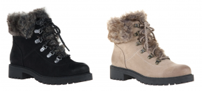 Madeline Girl- Rides cold weather hiker boots with fur