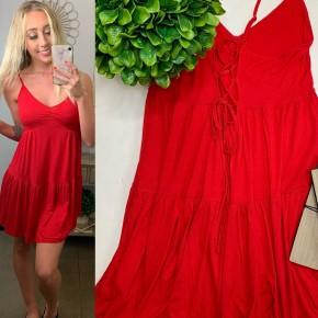 HYFVE- Sleeveless ruffle dress