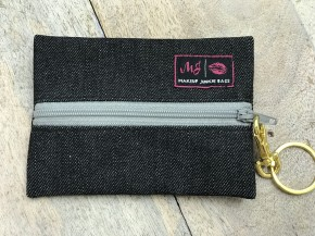 Makeup Junkie Slate Denim Micro Bag