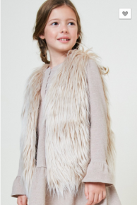 Hayden - Kids faux fur vest