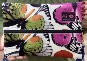 Makeup Junkie -  Monarch Bag (Print Varies Based On Fabric Cut)