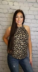 Twenty second - Leopard halter neck top